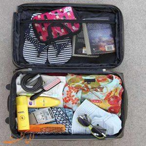 15 روش هوشمندانه برای بستن - نحوه بستن چمدانچمدان سفر - الی گشت