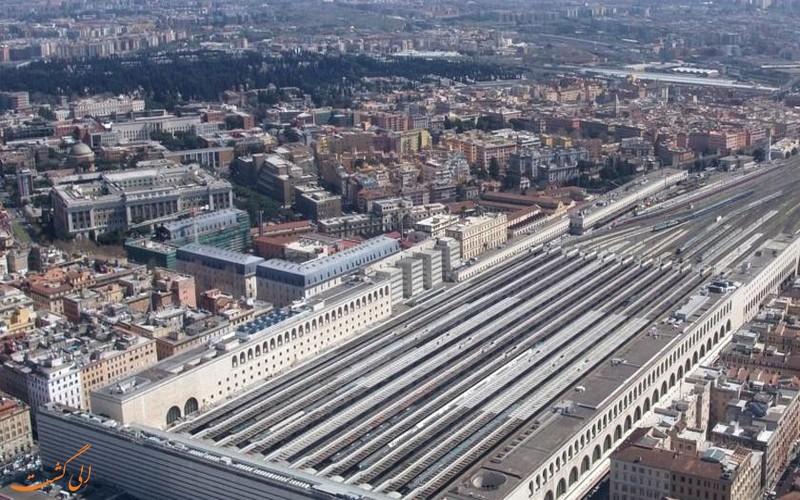ایستگاه قطار رم