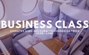 معرفی پرواز بیزینس کلاس امارات