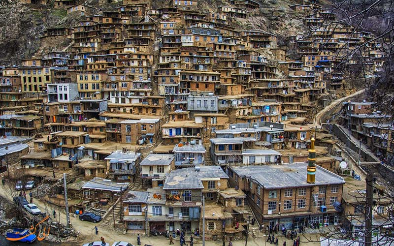 روستای تنگی سر جاهای دیدنی سنندج