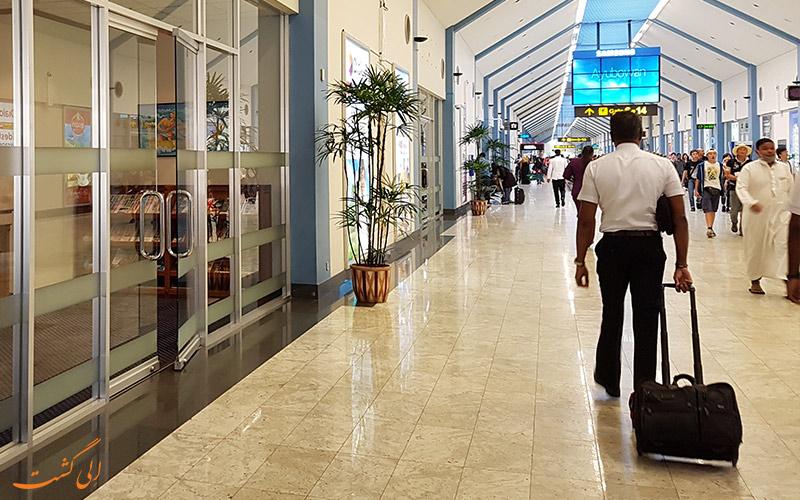 امکانات فرودگاه بین المللی باندارنیکی کلمبو