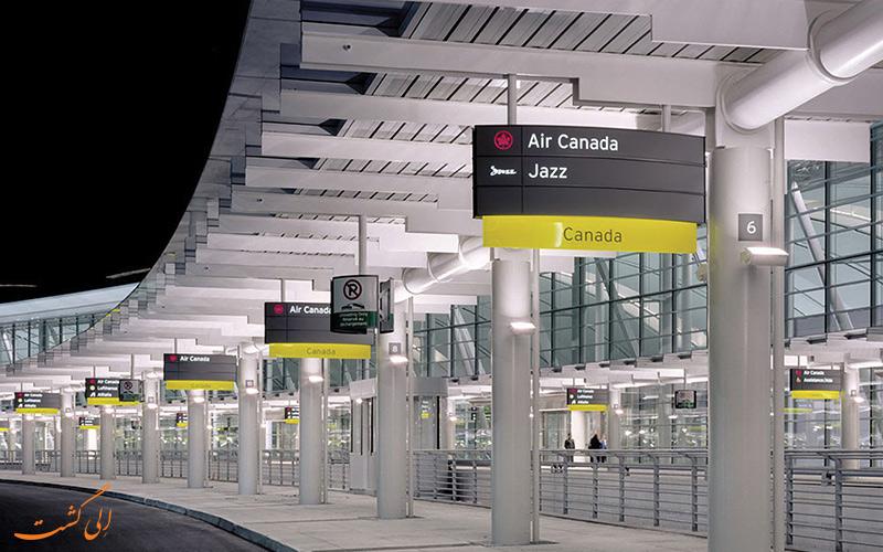 تاریخچه ی فرودگاه بین المللی پیرسون تورنتو