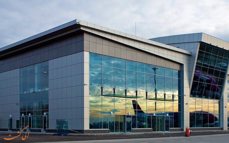 تاریخچه ی فرودگاه بین المللی کی یف ژولیانی