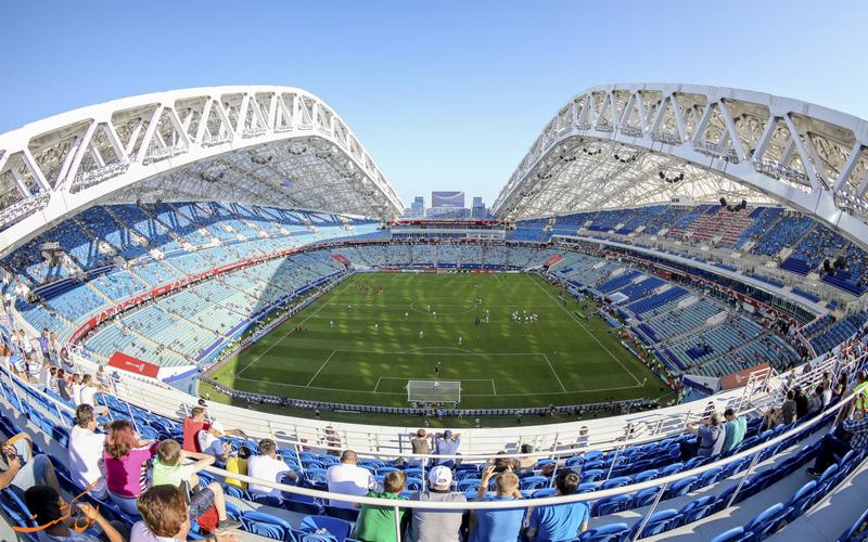 نمایی زیبا از ورزشگاه