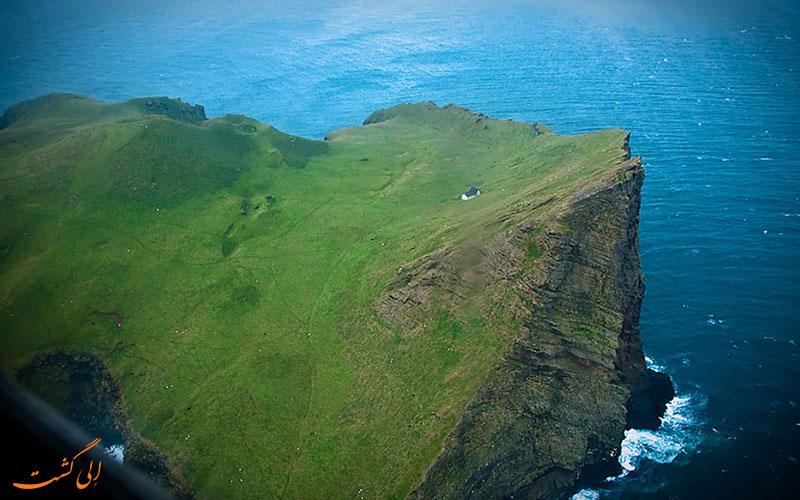 این جزیره فقط یک خانه دارد!