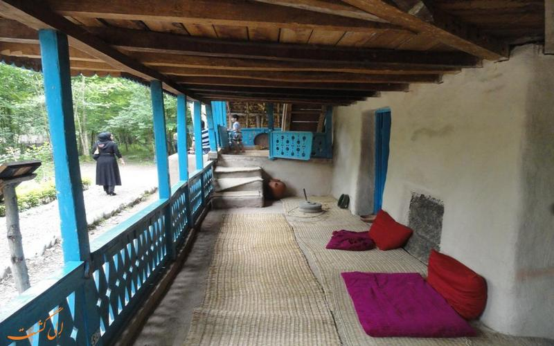 خانه های محلی در موزه میراث روستایی گیلان