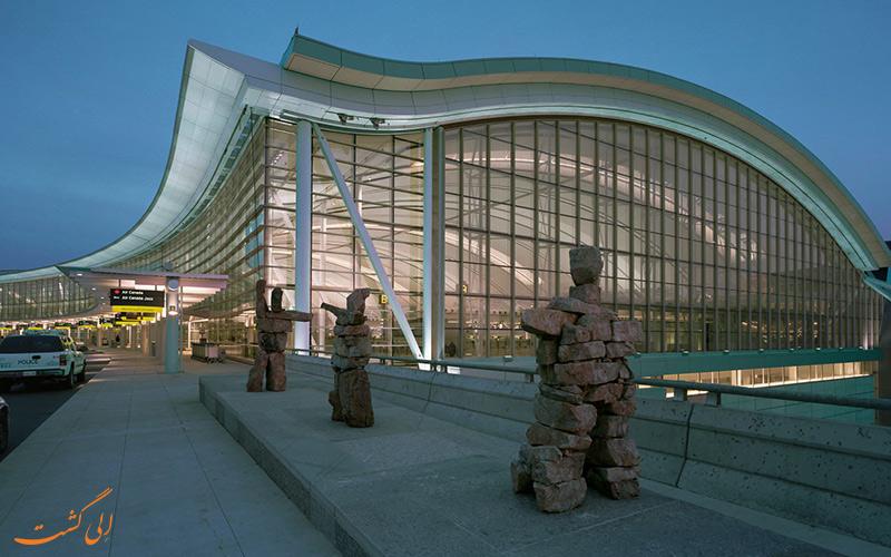 ترمینال های فرودگاه بین المللی پیرسون تورنتو