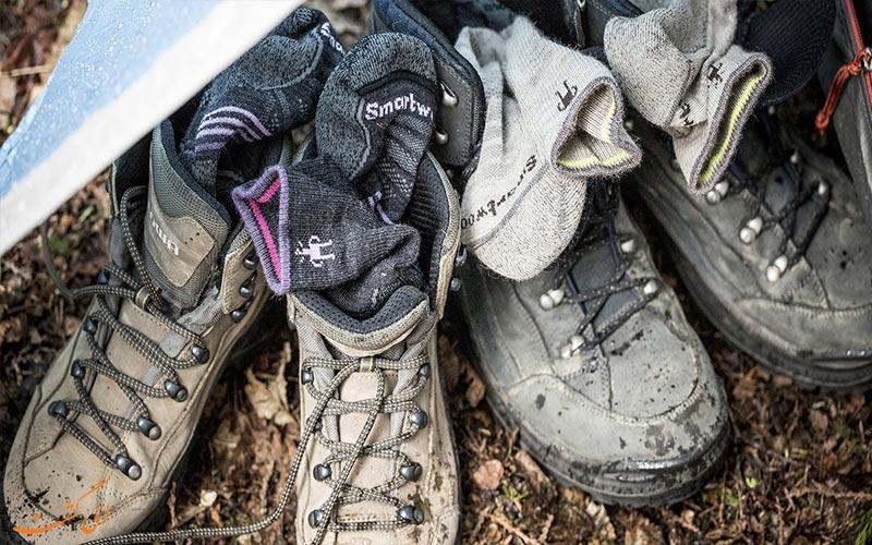 کفش کوهپیمایی- کفش کوهنوردی
