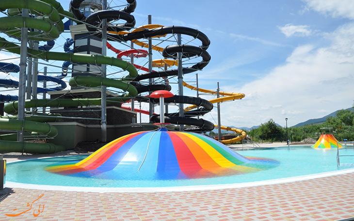 پارک آبی جینو پارادایس در شهر تفلیس