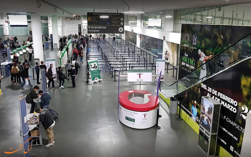 تاریخچه ی فرودگاه بین المللی مکزیکو سیتی