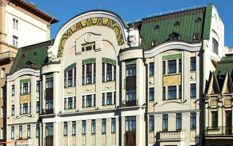 هتل 4 ستاره ماریوت تورسکیا در مسکو