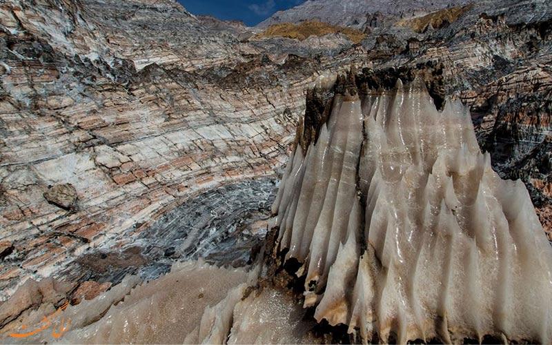 بزرگ ترین گنبد نمک خاورمیانه