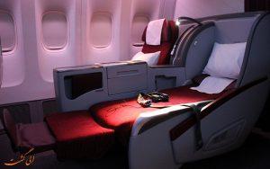 معرفی پروازهای بیزینس کلاس شرکت هواپیمایی قطر ایر ویز