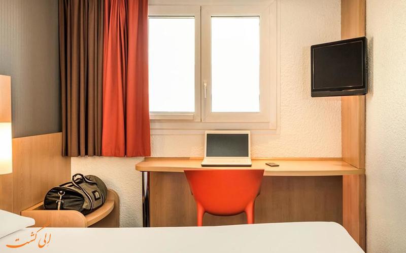 انواع اتاق های هتل آیبیس ایتالی تُلبیاک پاریس