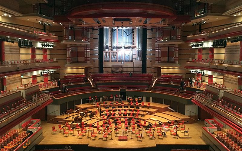 سالن کنسرت ارکستر سمفونیک بیرمنگام