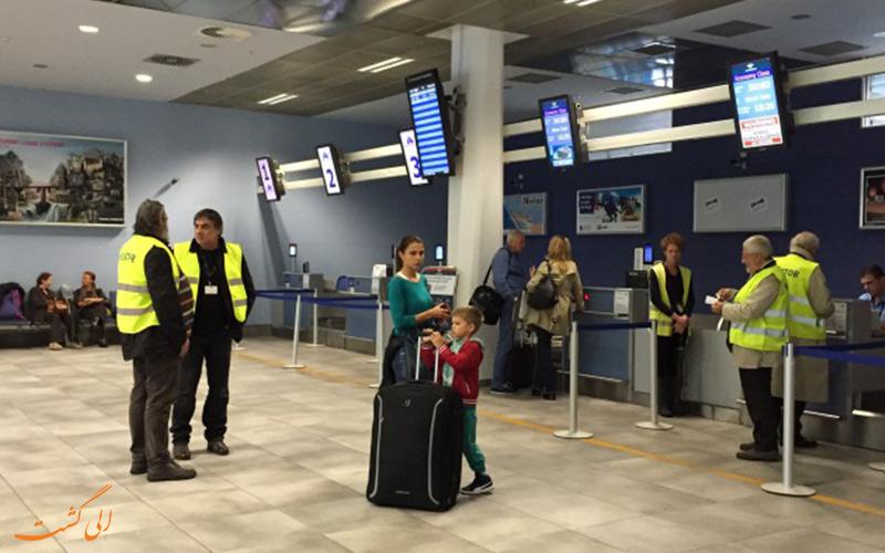امکانات فرودگاه بین المللی تیوات