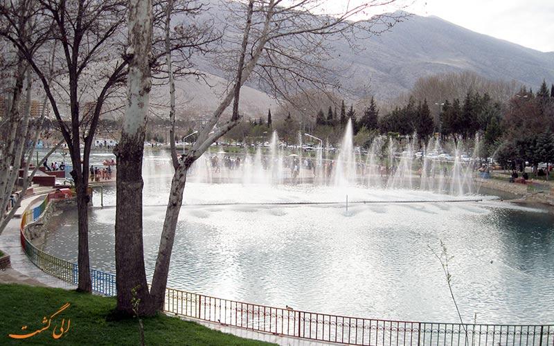 فواره های دریاچه کیو