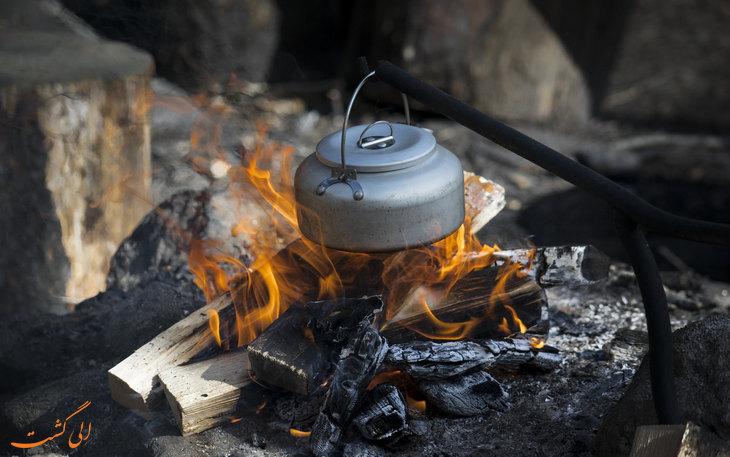 برپایی آتش در کمپینگ-نکات مفید در کمپینگ