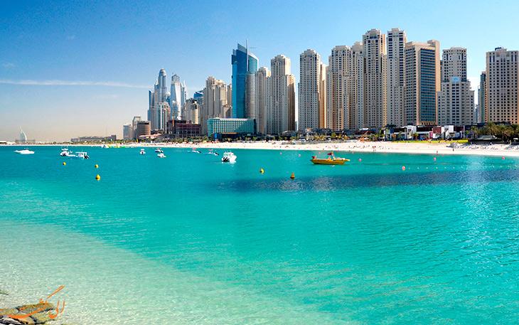 سواحل معروف دبی