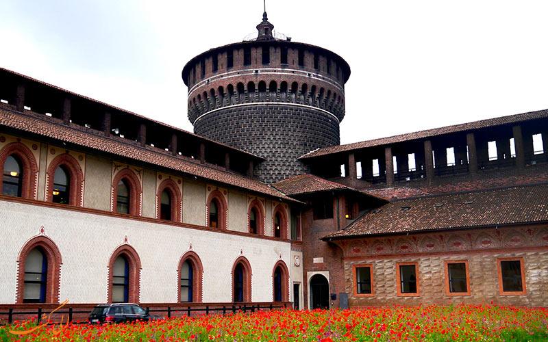 تاریخچه قلعه اسفورزا