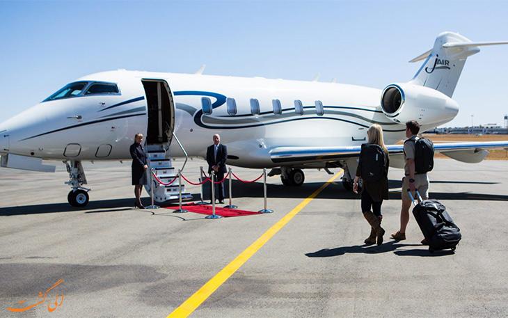 مسافران جت خصوصی