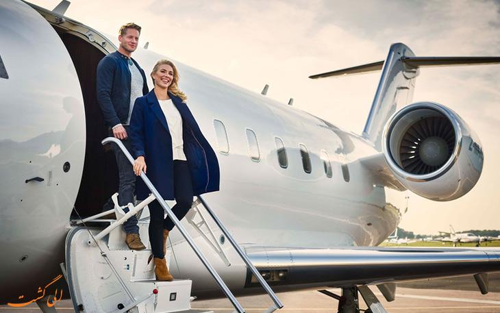 تجربه سفر با هواپیمای خصوصی