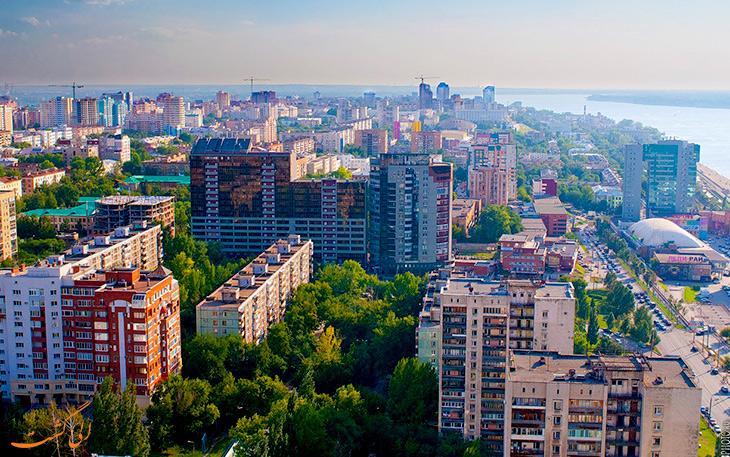 شهر سامارا در روسیه