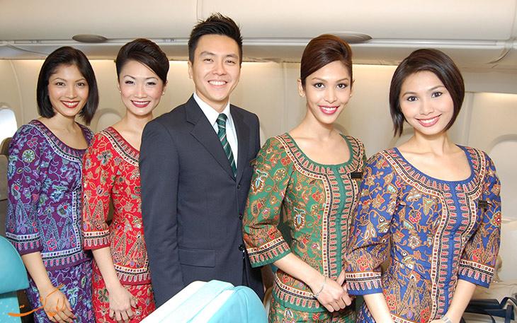 مهمانداران سنگاپور ایرلاینز