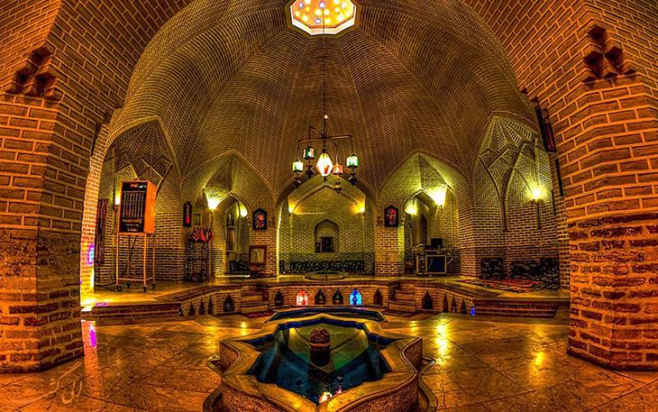بازار-و-حمام-خان