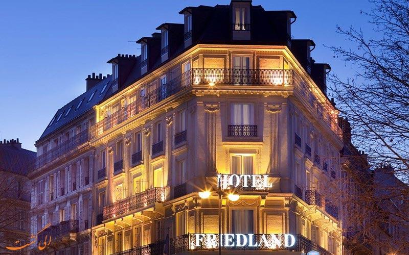 هتل شانزه لیزه فرایدلند پاریس نمای بیرونی هتل