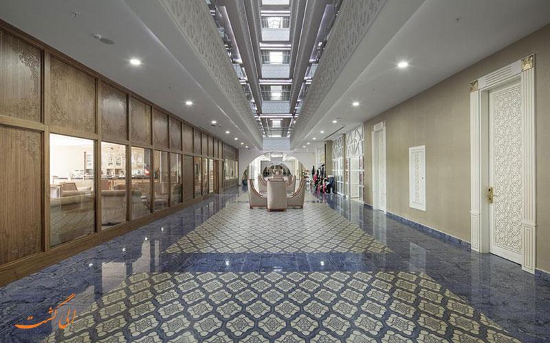 هتل زافیرا دلوکس آلانیا   محوطه داخلی