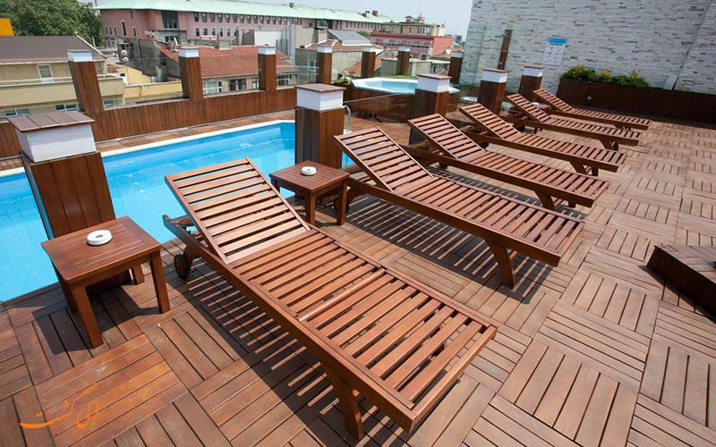 هتل کلاس استانبول و استخر