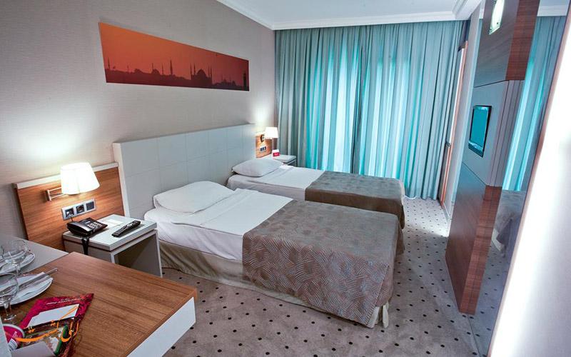 هتل کلاس استانبول   نمونه اتاق