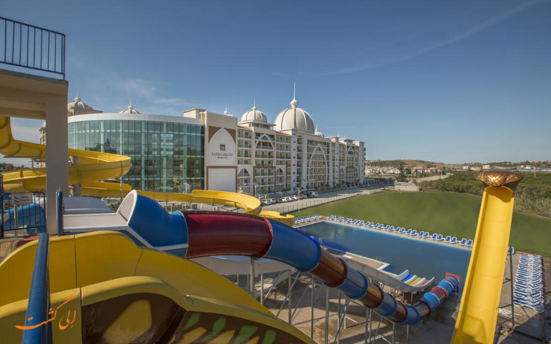 هتل زافیرا دلوکس آلانیا   استخر