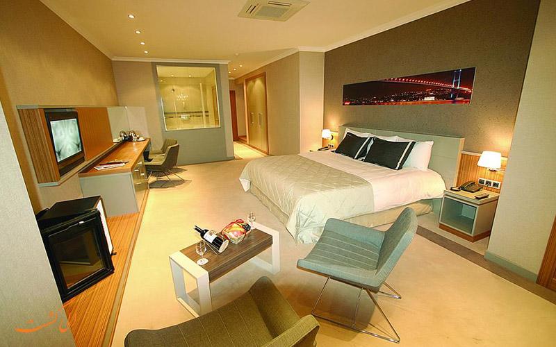 اتاق های سوئیت هتل کلاس استانبول