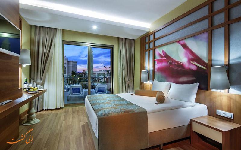 هتل زافیرا دلوکس آلانیا   اتاق