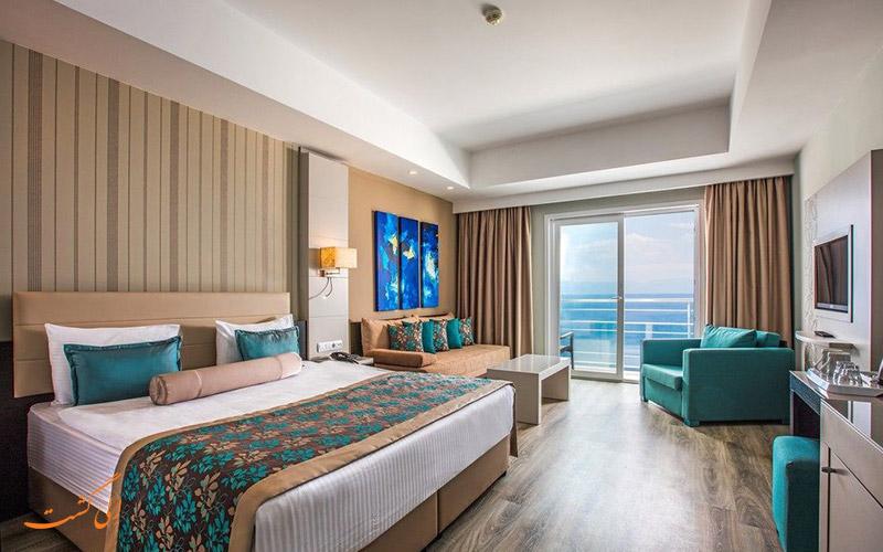نمونه اتاق هتل آریا کلاروس کوش آداسی
