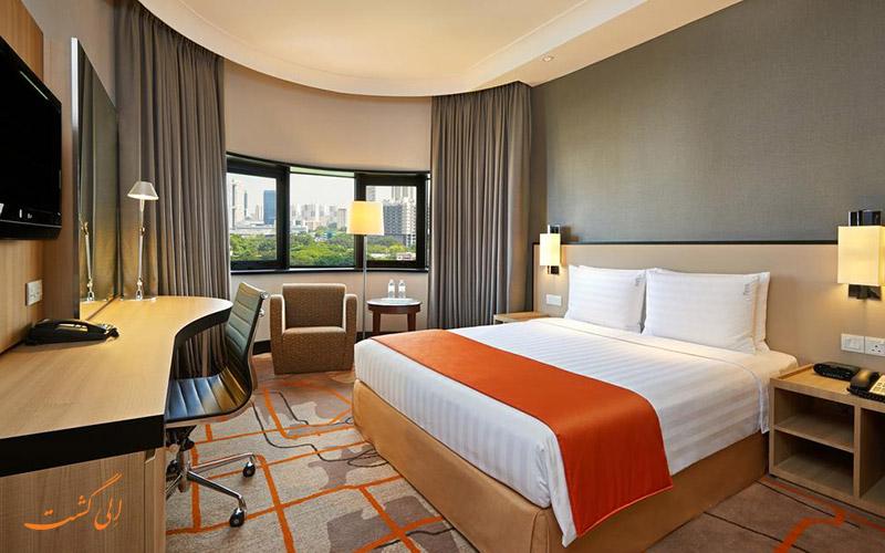 هتل هالیدی این اتریوم سنگاپور | نمونه اتاق