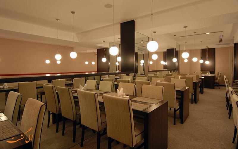 رستوران در هتل کلاس استانبول