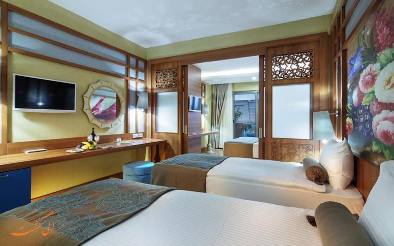 هتل زافیرا دلوکس آلانیا   اتاق تویین