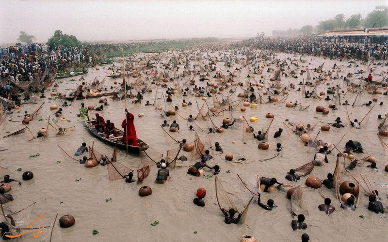 جشنواره ماهی گیری نیجریه