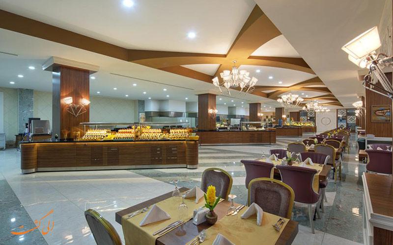 هتل زافیرا دلوکس آلانیا   رستوران