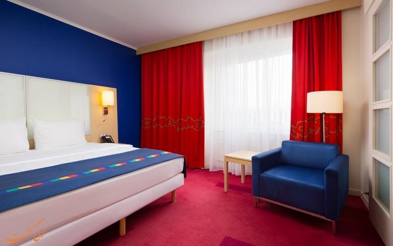 هتل پارکاین بای رادیسون سنت پترزبورگ و چیدمان اتاق ها