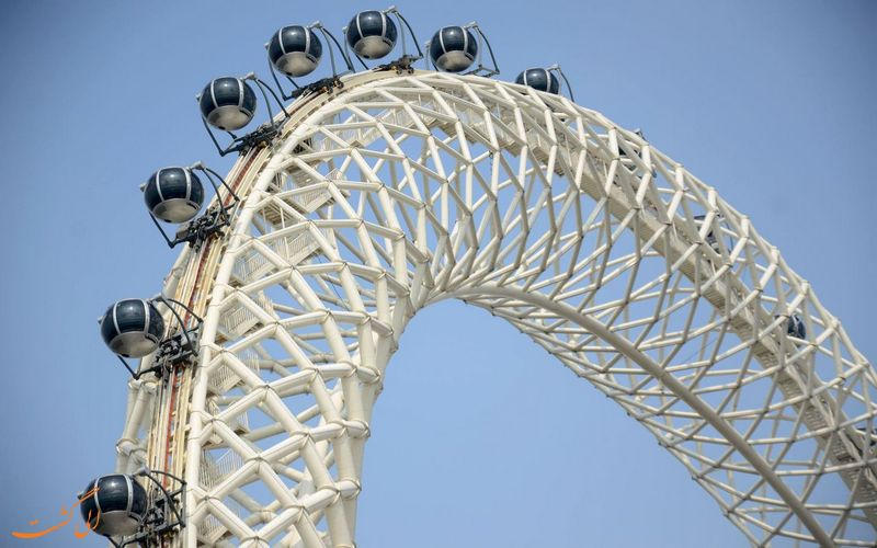 بزرگترین چرخ فلک بدون پره دنیا