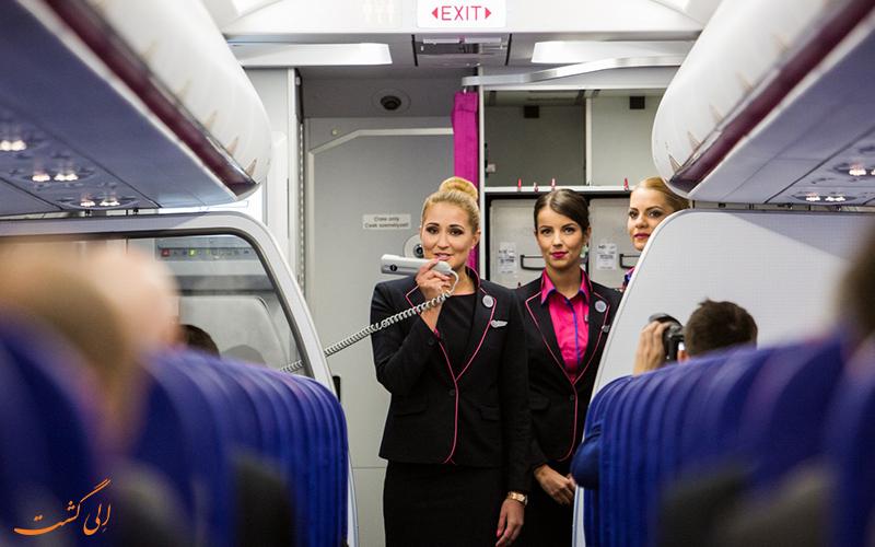 یک مهماندار هواپیما و قوانین هواپیما