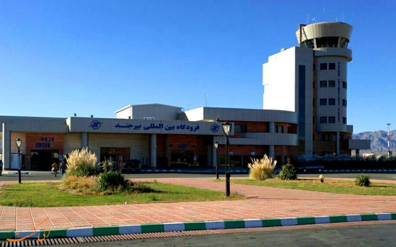 تاریخچه ی فرودگاه بین المللی بیرجند