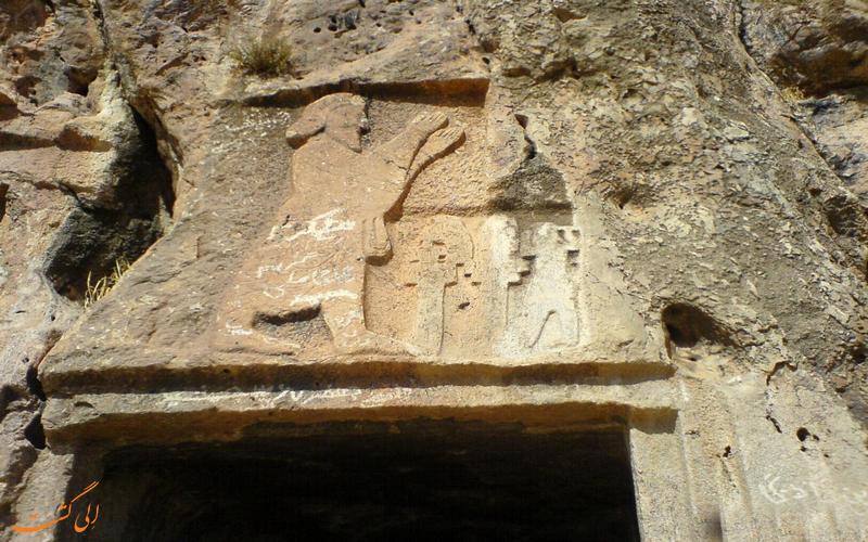 نقش مرد باستانی