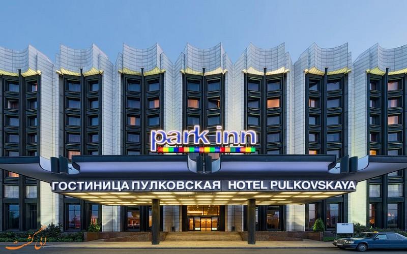 نما و ورودی بزرگ هتل پارکاین بای رادیسون سنت پترزبورگ