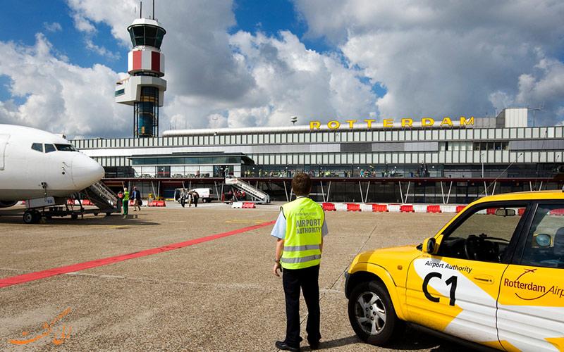 مسیرهای دسترسی به فرودگاه بین المللی روتردام