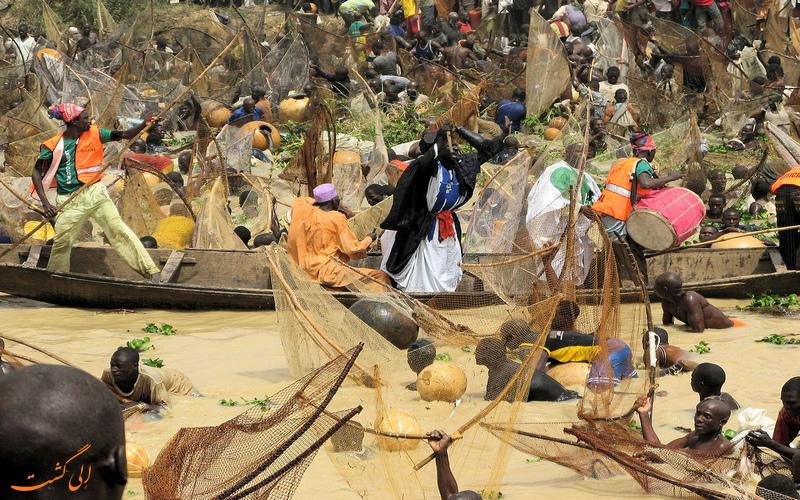 ماهی گیری در نیجریه